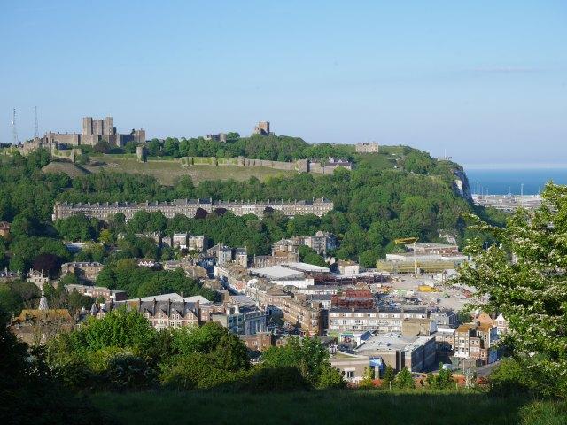 Dover castle view