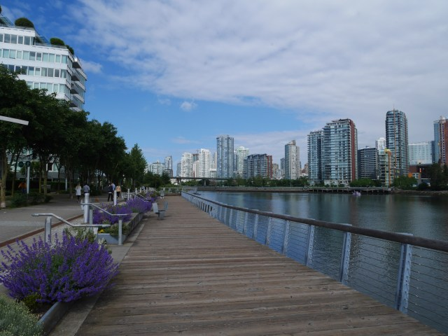Near the Eastern Edge of False Creek