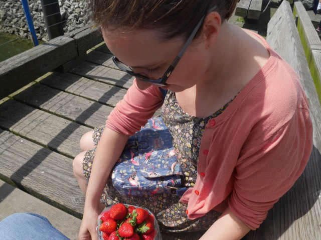 Granville Island strawberries