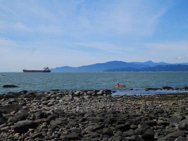 Ships and Kayaks