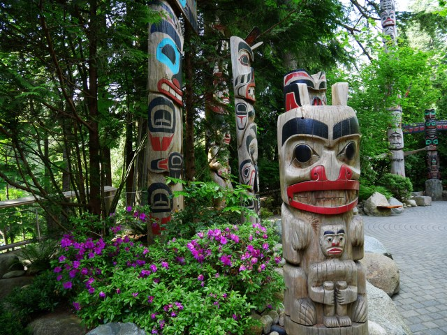 Lots of totem poles