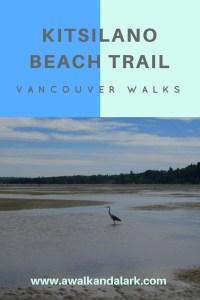 Kitsilano Beach Trail Vancouver trails