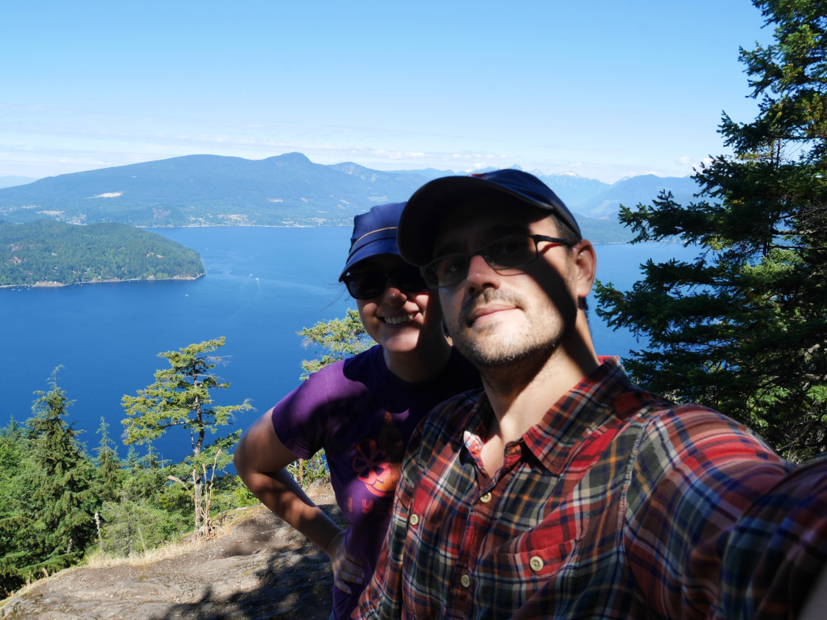 Vancouver Walks - Bowen Island and Mount Gardner - A walk and a lark