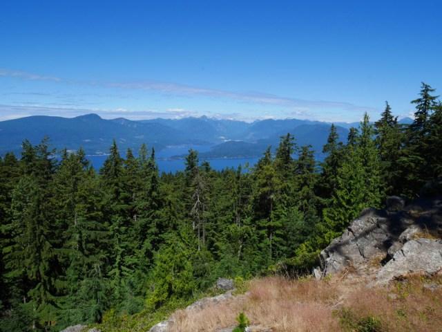 The North Peak on Mount Gardner