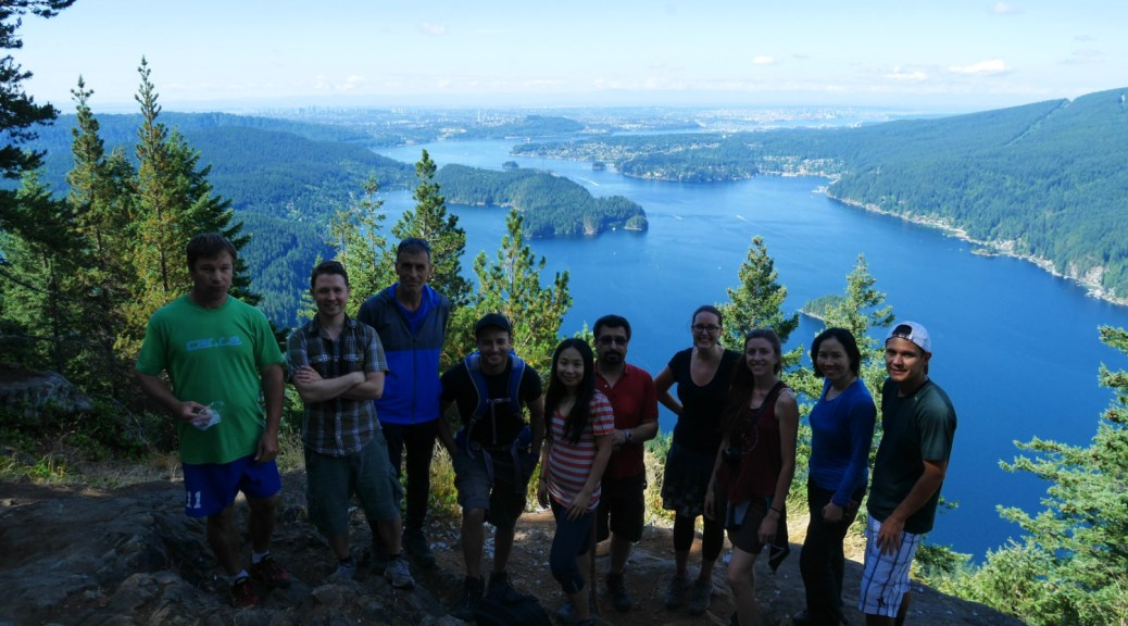 Our lovely Wanderung group