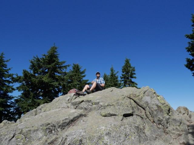 Marc on Dam Mountain