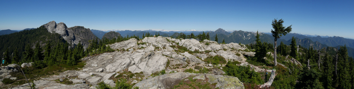 Panorama from Goat Mountain