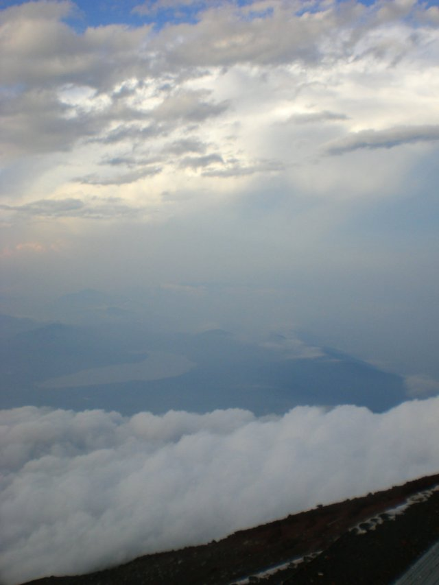 Mount Fuji view from the 8th station