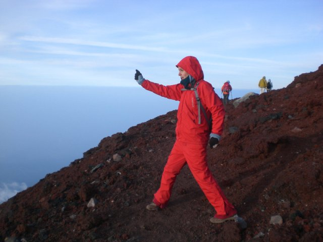 I am a mount Fuji telly tubby. I'm red, so I must be Po.