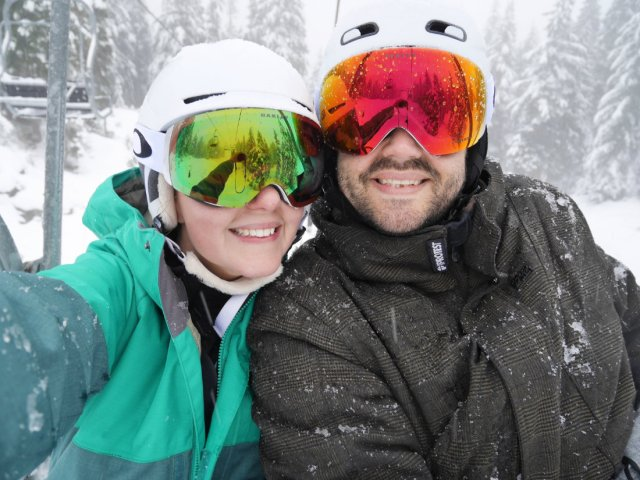 Learning To Ski In Vancouver Mount Seymour A Walk And