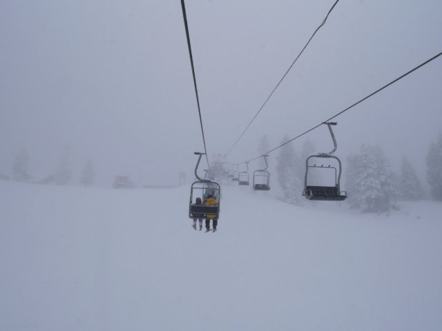 Chairlift again