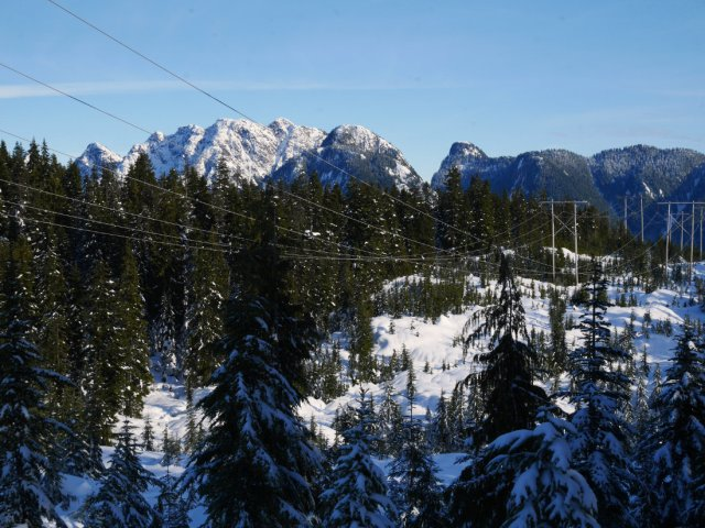 Crown Mountain and Goat Mountain
