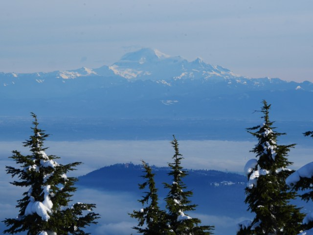 Mt Baker from Hollyburn Mountain