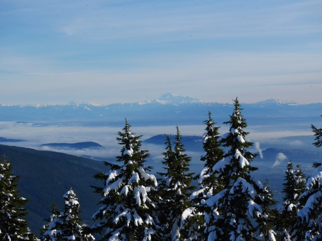 Mt Baker from Hollyburn Mountain