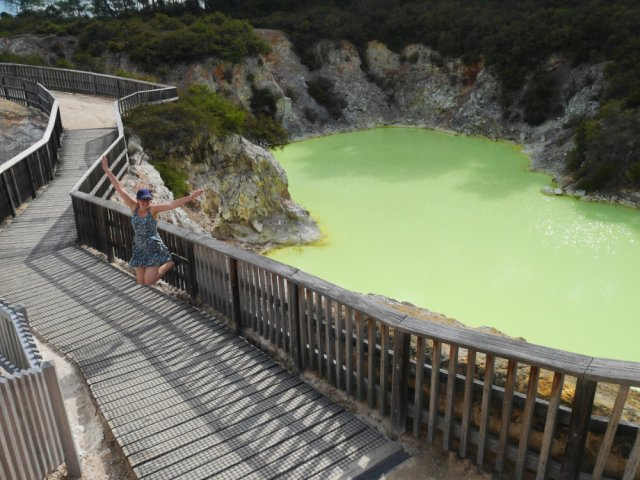 Devil's Bath thermal pool