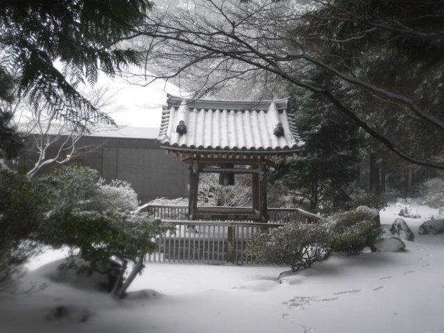 One of UBCs beautiful Japanese bells