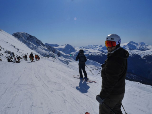 Marc on Top of Blackcomb