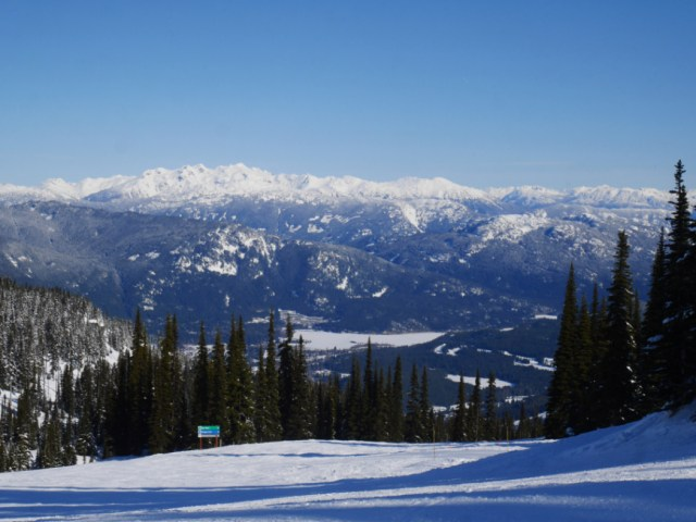 Stunning Whistler Blackcomb views