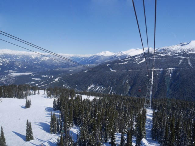 Peak to Peak Whistler Blackcomb