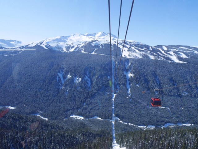 Peak to peak views - Whistler Blackcomb