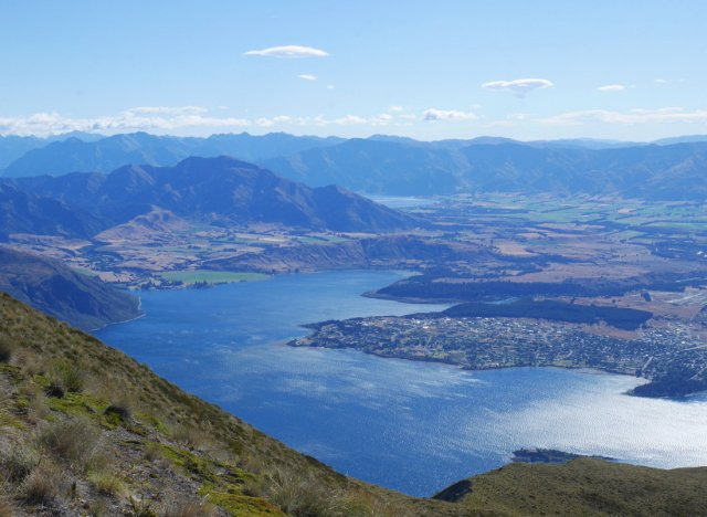 Lake Wanaka from Roy's Peak