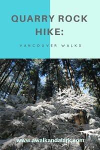 Quarry Rock Hike - Deep Cove