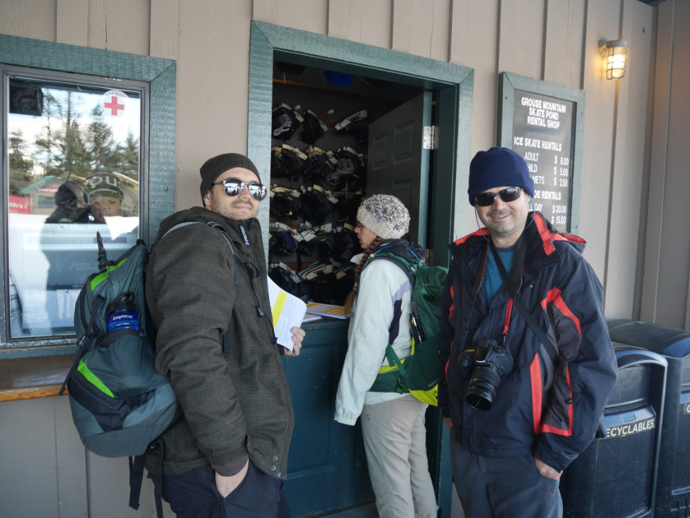 The Snowshoe Grind - Grouse Mountain