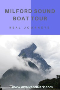 Milford Sound Boat Tour Real Journeys