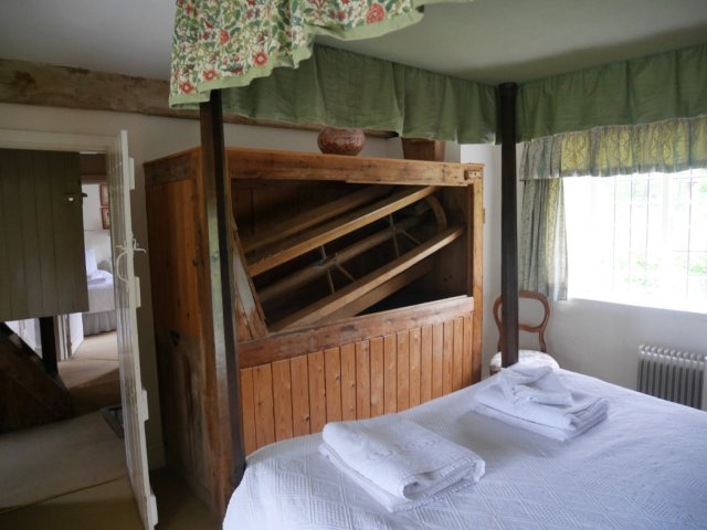 Our bedroom in Grist Mill - Owlpen Manor