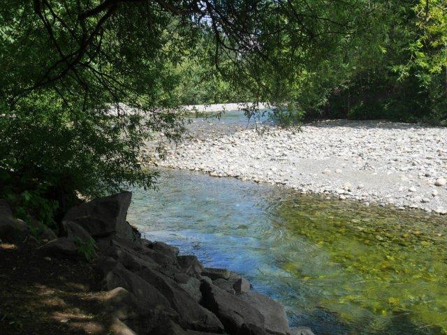 First view of Lynn Creek