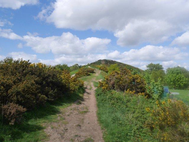 The Malvern Hills ridgeway