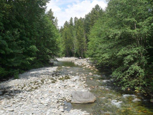 Crossing Lynn Creek