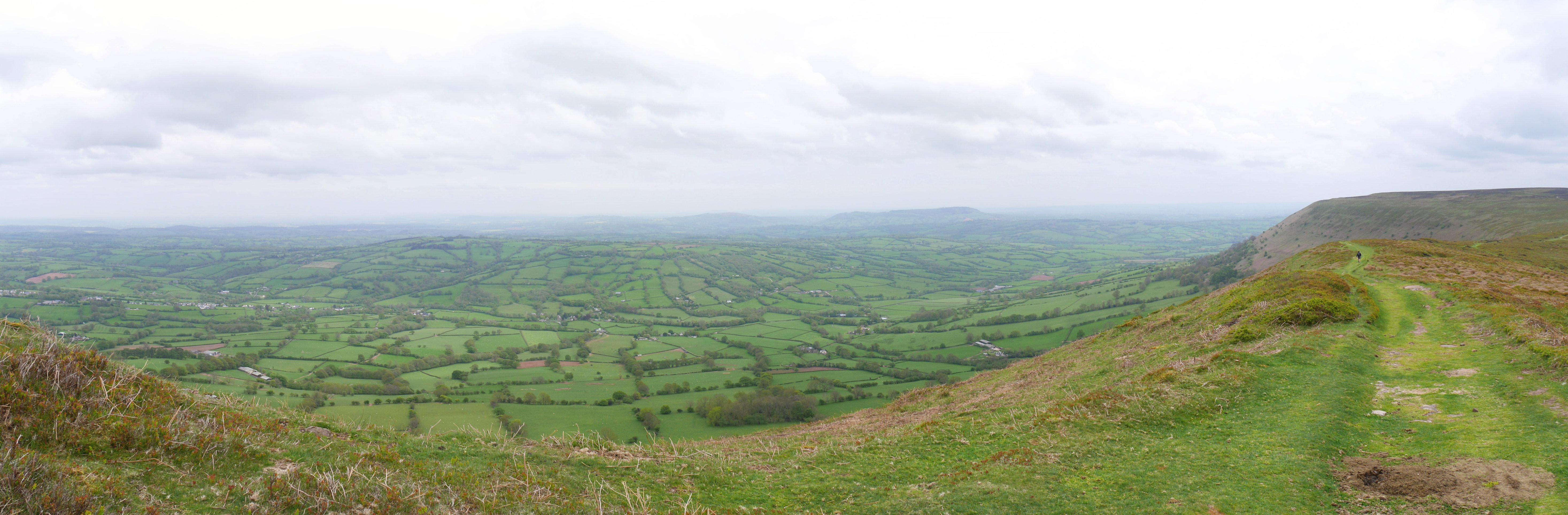 Beautiful views from Hatterall Ridge