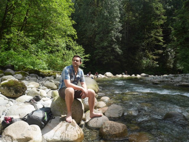 Marc in Lynn Creek