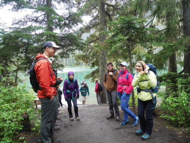 Wanderung hikers