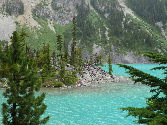 Joffre Lake lookout
