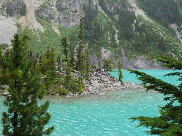 Joffre Lake lookout