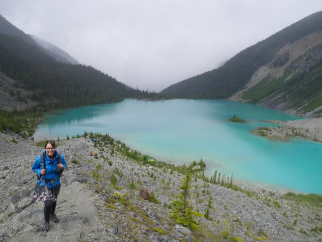 Upper Joffre lake view