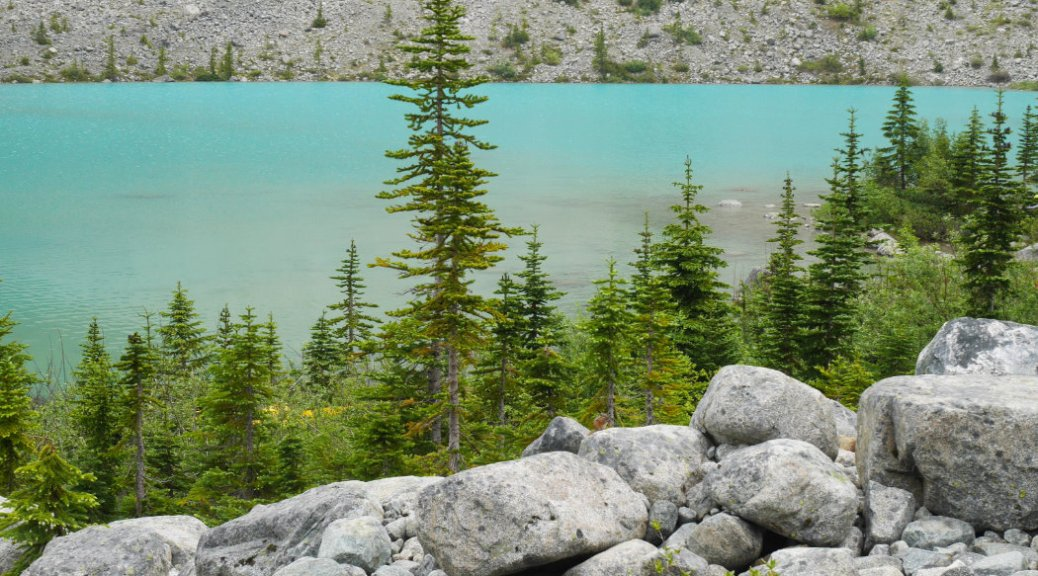 Amazing colour of Joffre Lakes
