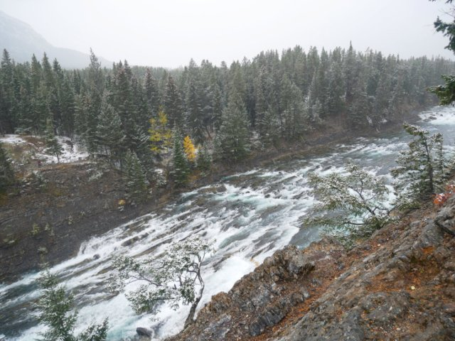 Bow River looking choppy!
