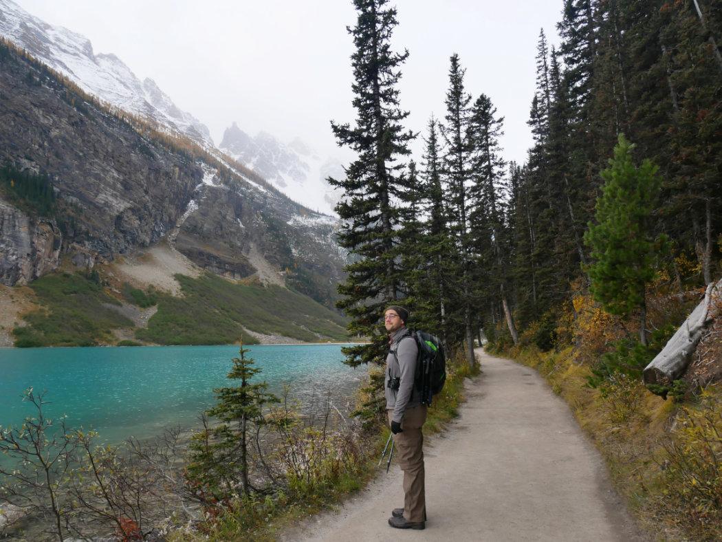 Plain of Six Glaciers - Banff National Park - A walk and a lark