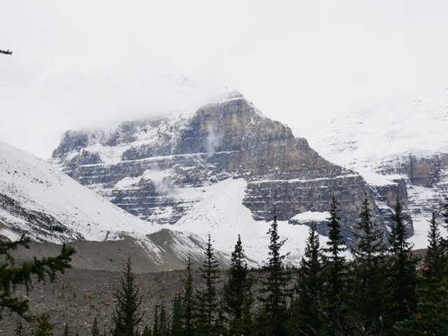 I think this is Mount Lefroy