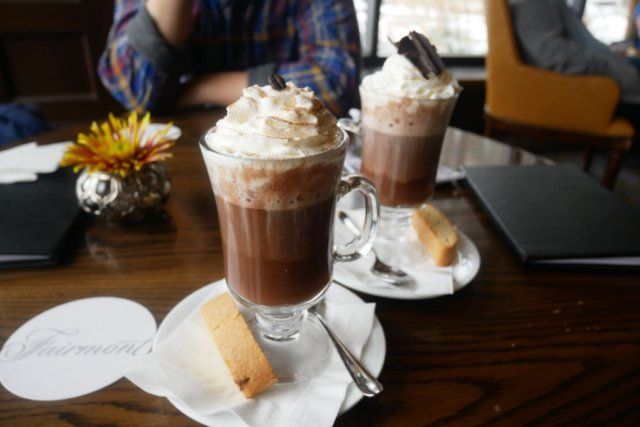 Boozy Hot chocolate
