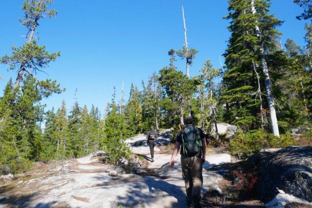 Marc on Al's Habrich ridge trail