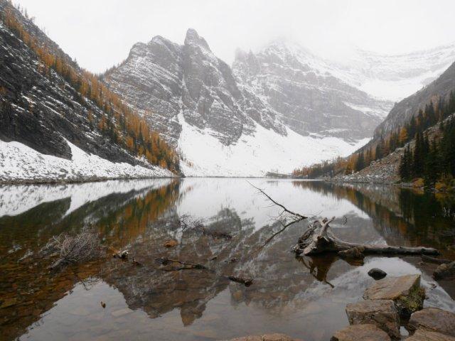 Lake Agnes views