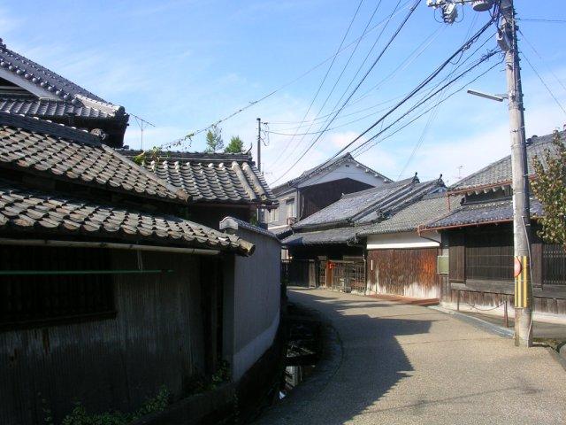Back streets of Sakurai