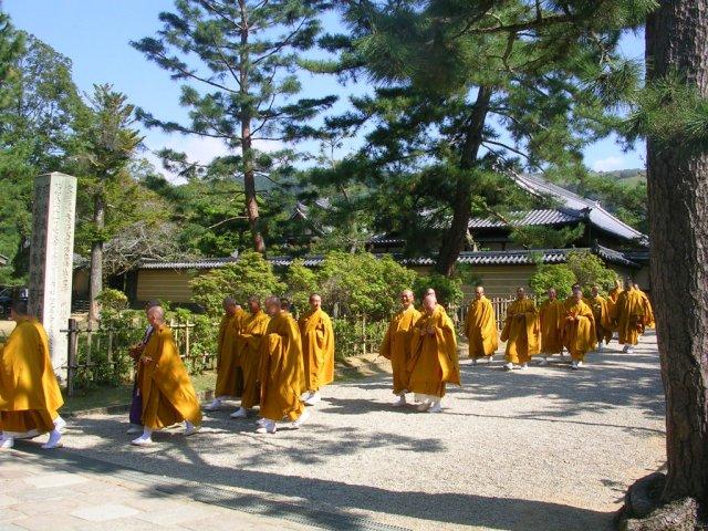 Monks at Todaiji