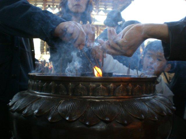 Todaiji incense