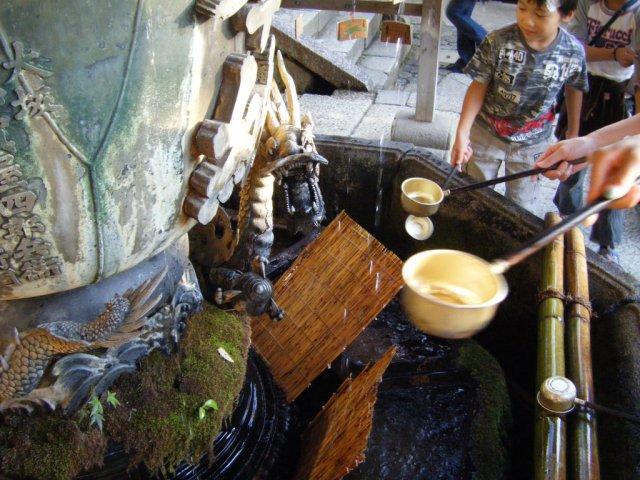 Dragon hand washing