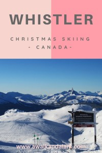 Whistler at Christmas - White Christmas